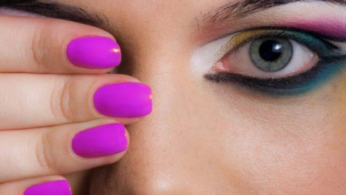 طریقه لاک زدن برای رنگهای نئونی